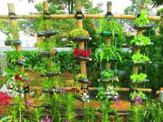 cuốc xẻng làm vườn