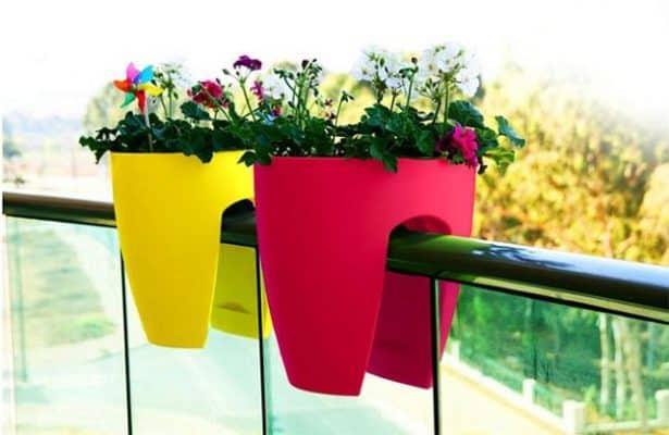 Chậu nhựa trồng hoa